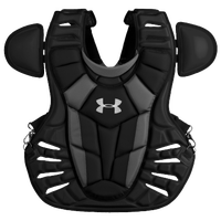 Under Armour Converge Chest Protector - Men's - Black / Silver