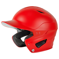 All Star Converge Batting Helmet - Red / Red