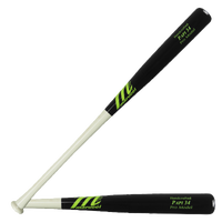 Marucci PAPI34 Pro Maple Baseball Bat - Men's - Black / White