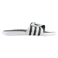 adidas Adissage Slide - Men's - White / Grey