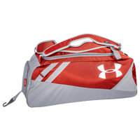 Under Armour Converge Mid Duffel Bat Pack - Red / Grey