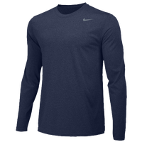 Nike Team Legend Long Sleeve Poly Top - Men's - Navy / Navy