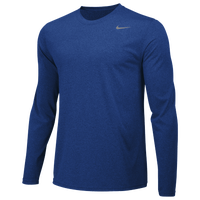 Nike Team Legend Long Sleeve Poly Top - Men's - Blue / Blue