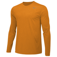 Nike Team Legend Long Sleeve Poly Top - Men's - Gold / Gold