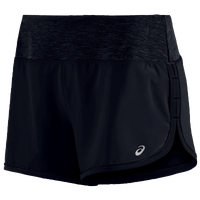 "ASICS® 4"" Everysport Shorts - Women's - All Black / Black"