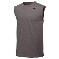Nike Team Legend Sleeveless Poly Top - Men's - Grey / Grey
