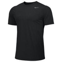 Nike Team Legend Short Sleeve Poly Top - Men's - All Black / Black