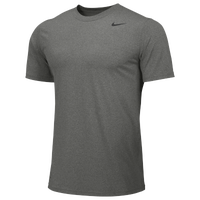 Nike Team Legend Short Sleeve Poly Top - Men's - Grey / Grey