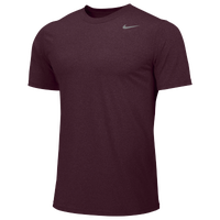 Nike Team Legend Short Sleeve Poly Top - Men's - Maroon / Maroon