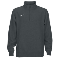 Nike Team Club Fleece 1/2 Zip - Men's - Grey / Grey