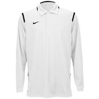 Nike Team Gameday Polo L/S - Men's - White / Black