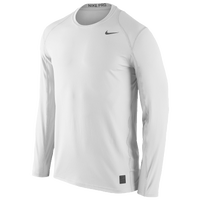 Nike Team Pro Cool Fitted Top - Men's - All White / White