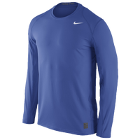 Nike Team Pro Cool Fitted Top - Men's - Blue / Blue