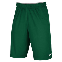 Nike Team Fly Shorts - Men's - Dark Green / Dark Green