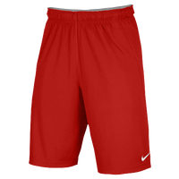 Nike Team Fly Shorts - Men's - Red / Red