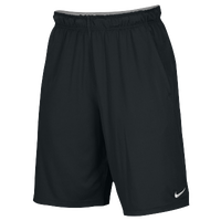 Nike Team 2 Pocket Fly Shorts - Men's - All Black / Black