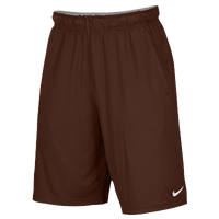 Nike Team 2 Pocket Fly Shorts - Men's - Brown / Brown