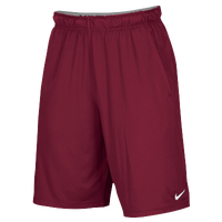 Nike Team 2 Pocket Fly Shorts - Men's - Red / Red