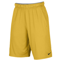 Nike Team 2 Pocket Fly Shorts - Men's - Gold / Gold