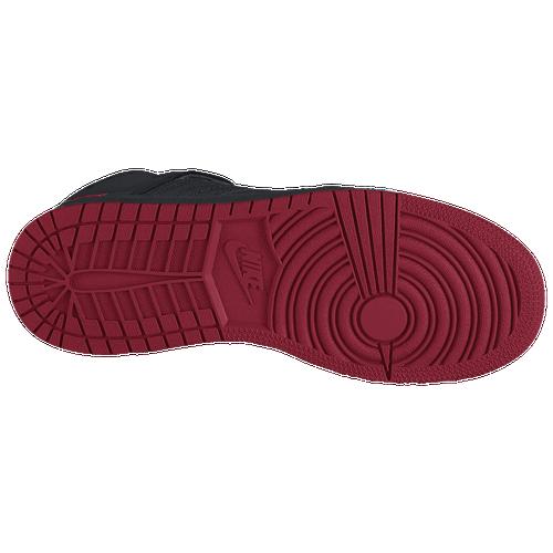 ... Boys' Grade School - Basketball - Shoes - Black/Gym Red/Black
