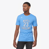 Jordan College Future Star Replica T-Shirt - Men's - North Carolina Tar Heels - Light Blue / White