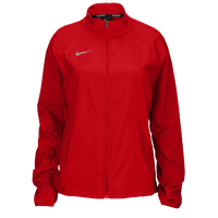 Nike Team Woven Running Jacket - Women's - Red / Red