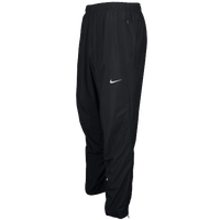 Nike Team Woven Running Pants - Men's - All Black / Black