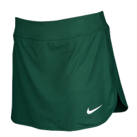 Nike Team Pure Tennis Skirt - Women's - Dark Green / White