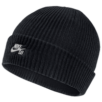 Nike SB Wrap Beanie - Men's - All Black / Black