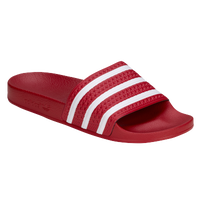 adidas Originals Adilette - Men's - Red / White