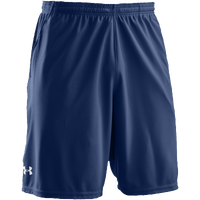 "Under Armour Team Coaches 9.5"" Short - Men's - Navy / Navy"