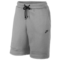 Nike Tech Fleece Shorts - Men's - Grey / Grey