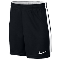 Nike Academy Knit Shorts - Boys' Grade School - Black / White