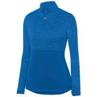 Augusta Sportswear Team Heather 1/4 Zip Pullover - Women's - Blue / Blue
