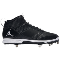 Jordan Jeter Lux Metal - Men's - Black / White