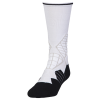 Under Armour Football Crew Socks - Men's - White / Black