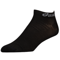 ASICS® Fuzex Single Tack Socks - Black / Black