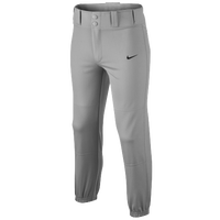 Nike Core DF Baseball Pants - Boys' Grade School - Grey / Grey