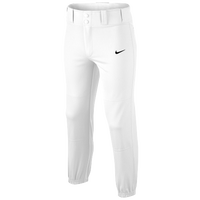 Nike Core DF Baseball Pants - Boys' Grade School - All White / White