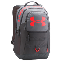 Under Armour Big Logo Backpack 5.0 - Grey / Red