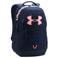 Under Armour Big Logo Backpack 5.0 - Navy / Pink