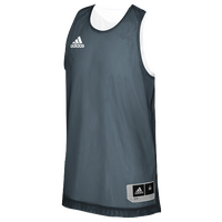 adidas Team Crazy Explosive Reversible Jersey - Boys' Grade School - Grey / White