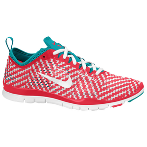 Nike Free 5.0 TR Fit 4 - Women's - Laser Crimson/Turbo Green