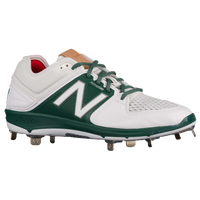 New Balance 3000V3 Metal Low - Men's - White / Dark Green