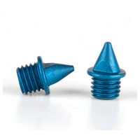 Omni-Lite 5mm Pyramid Spikes Pack of 20 - Blue / Blue