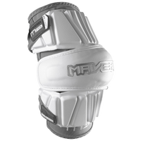 Maverik Lacrosse Max Arm Pad - Men's - White / Grey