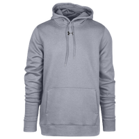 Under Armour Team Hustle Fleece Hoodie - Men's - Grey / Grey
