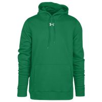 Under Armour Team Hustle Fleece Hoodie - Men's - Green / Green