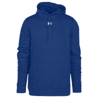 Under Armour Team Hustle Fleece Hoodie - Men's - Blue / Blue