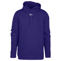 Under Armour Team Hustle Fleece Hoodie - Men's - Purple / Purple